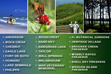 pinellas county florida parks preserves