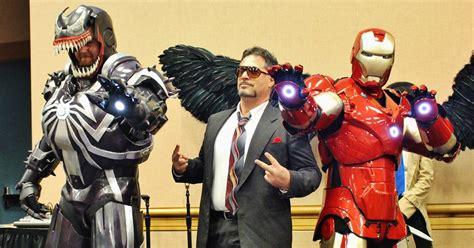 Heroes & Villians Contest Winner Iron Venom Suit By
