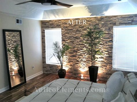 Wohnzimmer Wand Steine by I These Faux Panels To Turn The Living Room