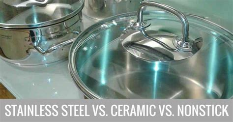 stick  stainless steel  ceramic cookware