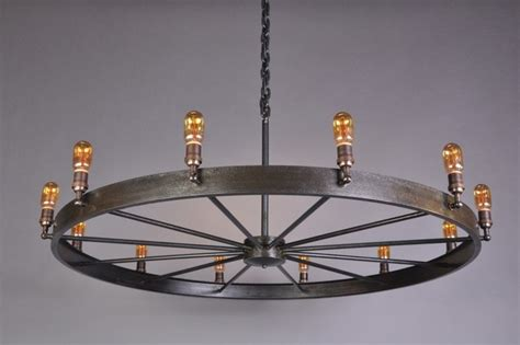 wagon wheel light fixture for your home light decorating