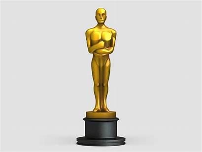 Oscar Statue Award 3d Drawing Awards Stl