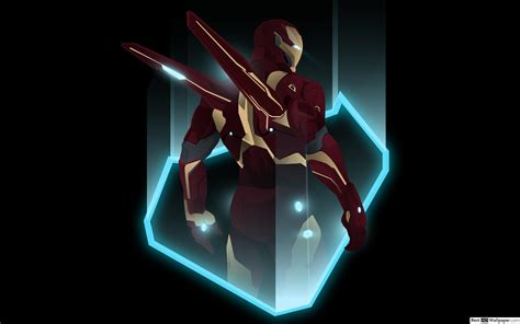 avengers endgame superhero ironman vector hd