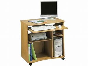 bureau informatique dangle conforama ciabizcom With conforama meuble informatique bois