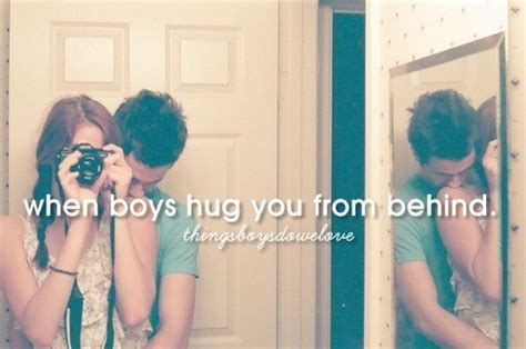 Hug From Behind On Tumblr