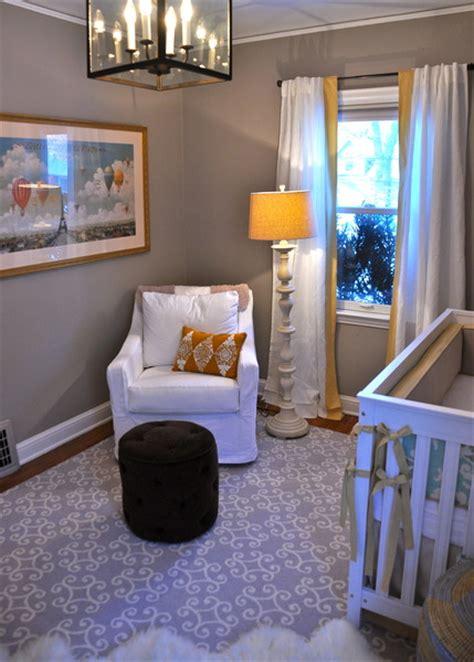 Serene, Genderneutral Nursery For A Surprise Baby
