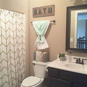 bathroom inspiring small bathroom decor small bathroom With how to decorate a bathroom on a budget