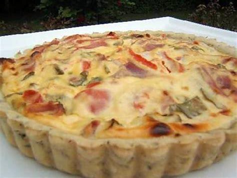 origan cuisine recette de tarte salée à la ricotta et jambon sec d