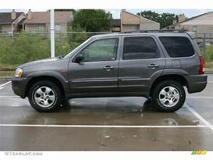 Dark Titanium Gray Metallic 2003 Mazda Tribute Es