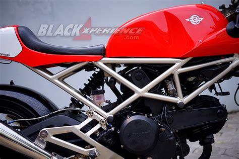 ruko untuk bengkel motor modifikasi ducati 620 the vintage racer