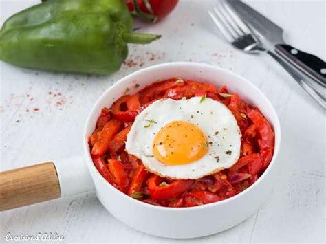 recette cuisine basque recettes de piperade de la cuisine d 39 adeline