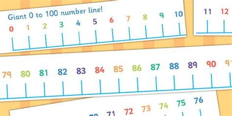 giant   number  numberline banner giant