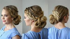 Stacked Fishtail French Braid Updo Missy Sue YouTube