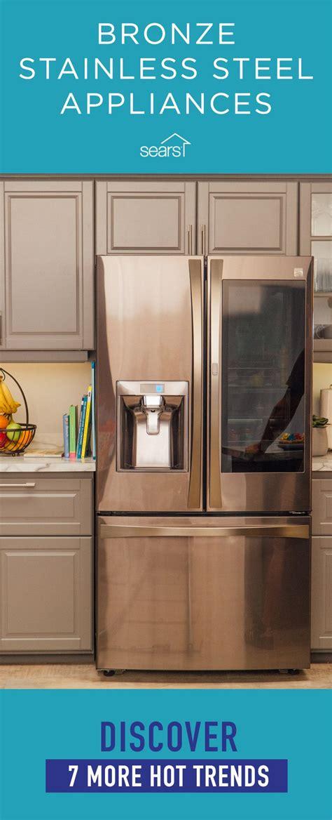bronze stainless steel appliances
