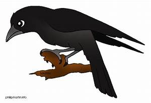 Raven clipart - Clipground