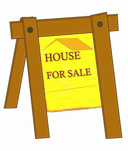 Clip Clipart Signs Selling Cliparts Cartoon Sign