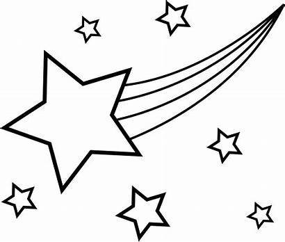 Coloring Stars Pages Sky