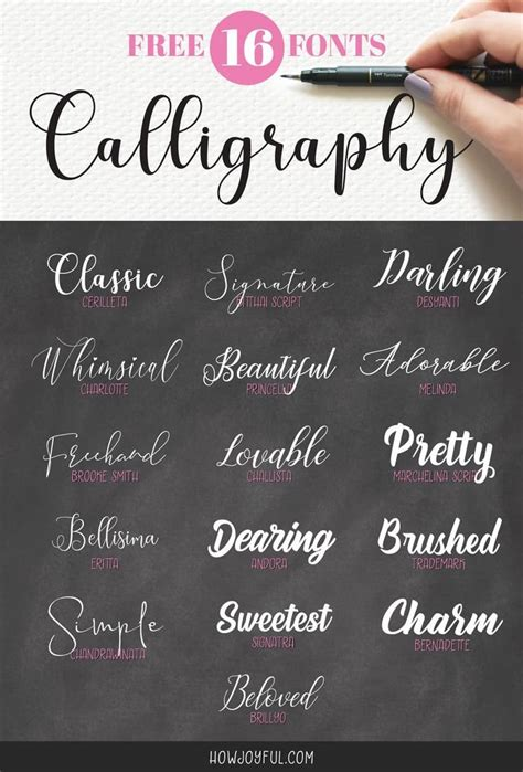calligraphy fonts    creative project  calligraphy fonts chalkboard