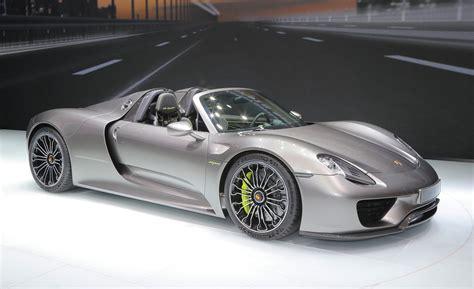 2015 Porsche 918 Spyder Production-spec Photos And Info