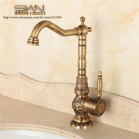 vintage bathroom sink faucets aliexpress com buy antique brass bathroom faucet