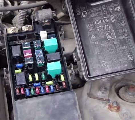 Fuse Box In Honda Accord 2004 by 2003 Honda Accord Fuse Box Fuse Box And Wiring Diagram