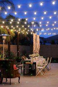 26 breathtaking yard and patio string lighting ideas will for Image outdoor string lights patio ideas