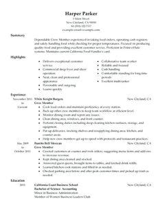 Sle Resume For Material Handler by Bar Staff Resume Template Http Resumesdesign Bar