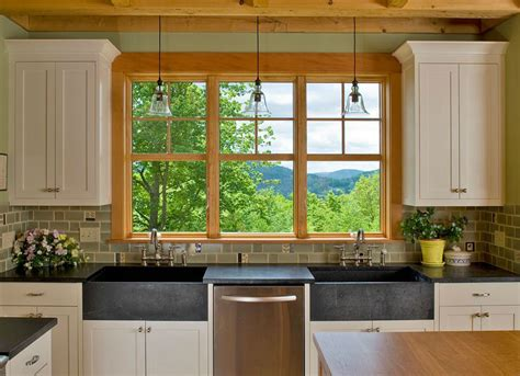 Vermont Soapstone Sinks by Soapstone Sinks Are Equally At Home In Country Farmhouses