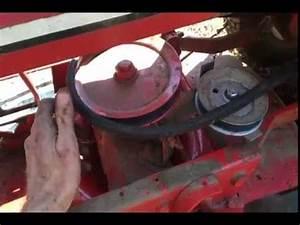 Snapper Riding Mower Belt Came Off  Belt Configuration 6 5