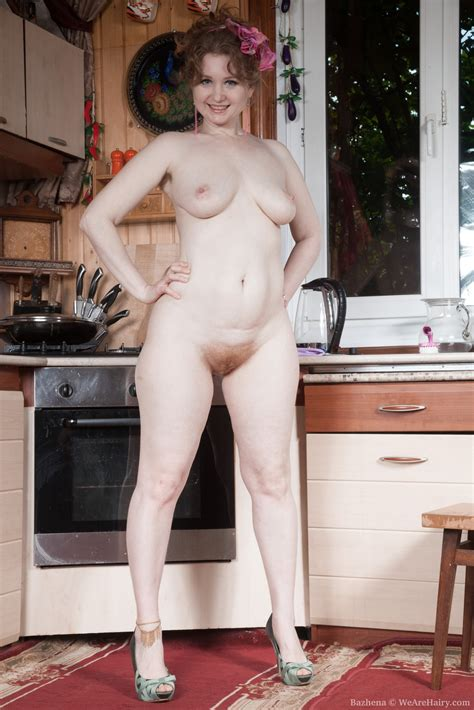 Bazhena Gets Naked And Sexy In Her Kitchen