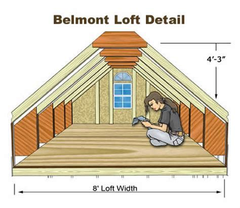 Belmont 12' Wide Shed Kit