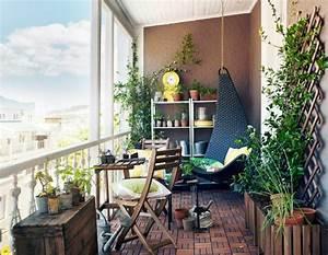 deco balcon et terrasse d39appartement en ville deco With idee deco terrasse appartement