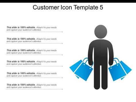 customer icon template  powerpoint images