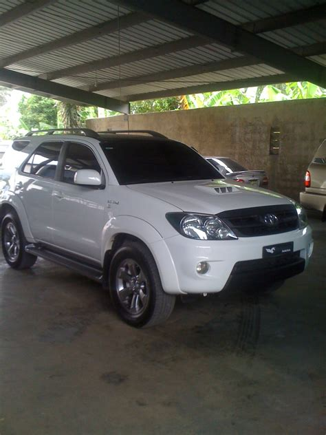 Toyota Fortuner Modification by Perezaut 2008 Toyota Fortuner Specs Photos Modification