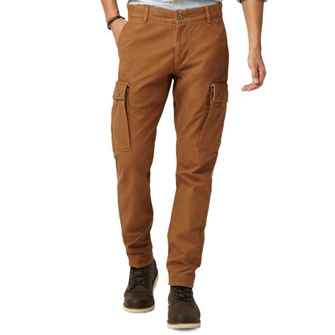 slim fit cargo lyst dockers alpha bridgehead cargo in brown for
