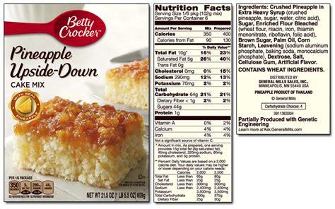 betty crocker product list