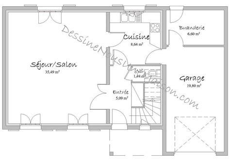 plan de maison gratuit 3 chambres plans de maisons individuelles avec 3 chambres