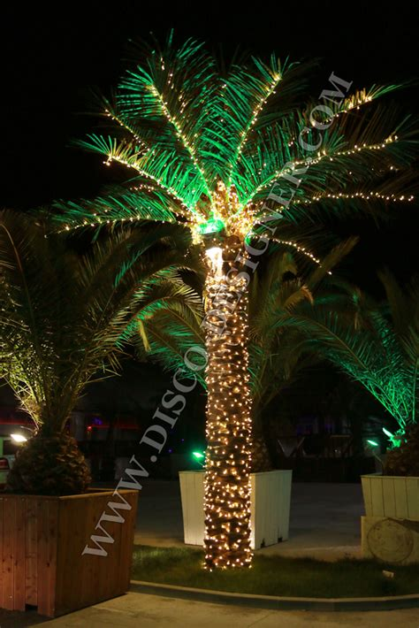 palm tree lights artificial palm tree led lighting