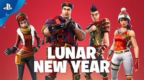 fortnite lunar  year event trailer save  world