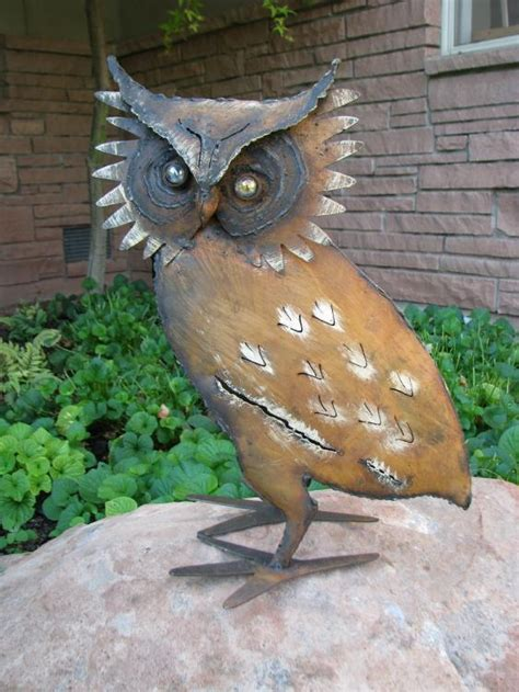 owl yard art large lemas kokopelli gallery