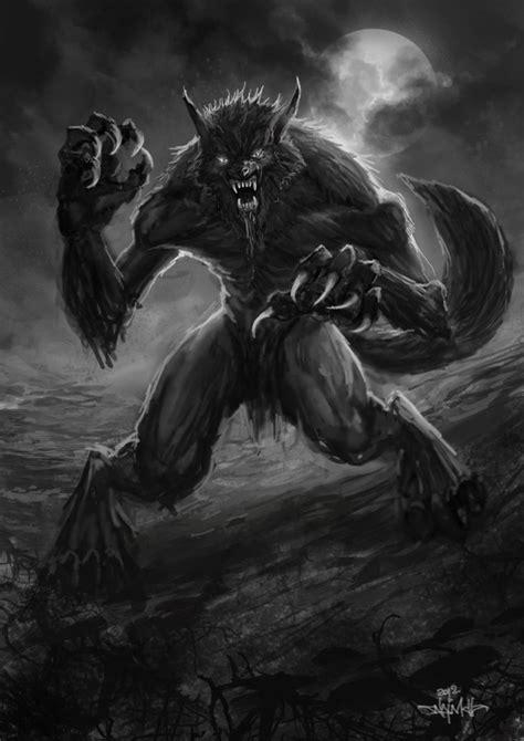 anime fantasy thriller another werewolf by najmulosmani on deviantart