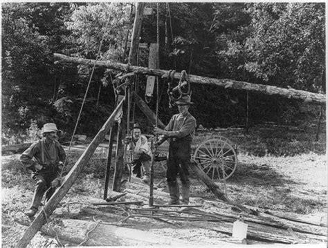 kerosene l history drilling technology american gas