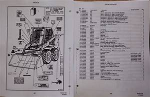 Bobcat 763 763f 763h Skid Steer Parts Manual Book 6724063