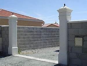 Portail 4 Metres 2 Vantaux : pilier de portail portail 4 metres 2 vantaux sfrcegetel ~ Edinachiropracticcenter.com Idées de Décoration