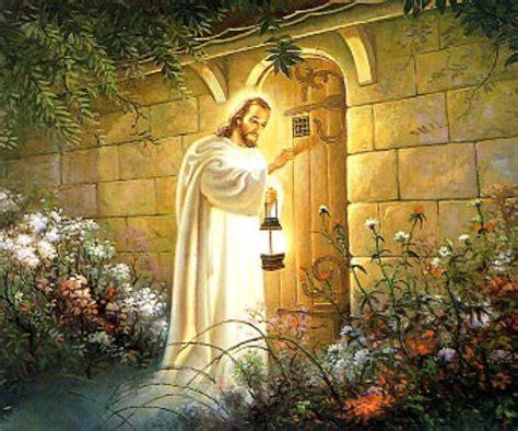 jesus knocking at the door painting 문 두드리는 예수님