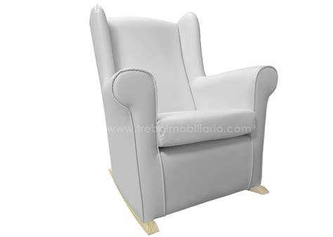 chaise allaitement simple fauteuil a bascule ou sur pieds bergere simili cuir