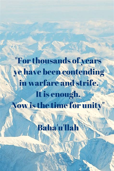 Bahai Quotes Unity In Diversity
