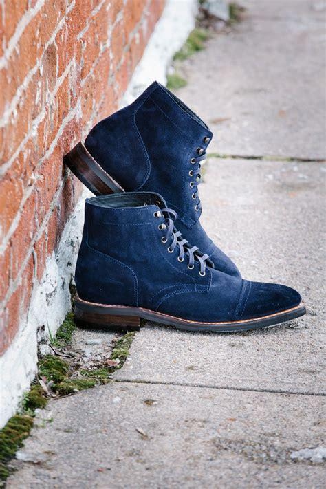 thursday boot captain midnight suede davis county