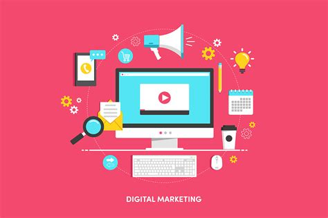 digital market illustration quot digital marketing quot illustrations on
