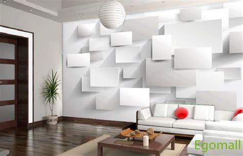6square 3d Wallpaper Papel Parede 3d Wall Paper Papel De